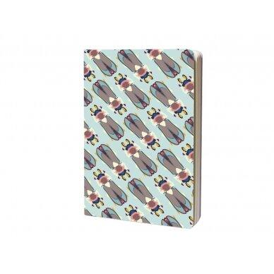 """Studio ROOF užrašų knygelė ,,Tiger beetle"""" (A6)"""