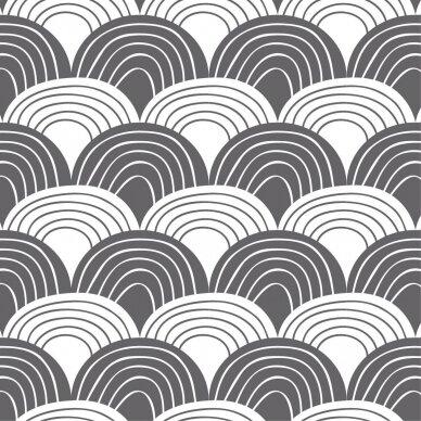 "Swedish Linens paklodė ,,Rainbows: graphite"" 2"