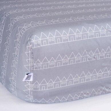 Swedish Linens paklodė ,,Lindbacken: gray'' 3