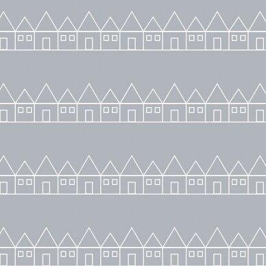 Swedish Linens paklodė ,,Lindbacken: gray'' 2