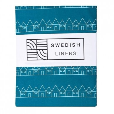 "Swedish Linens paklodė ,,Lindbacken: moroccan blue"""
