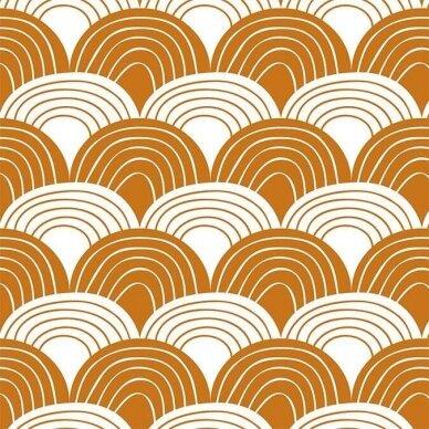 """Swedish Linens paklodė ,,Rainbows: cinnamon"""" (60x120 cm) 2"""