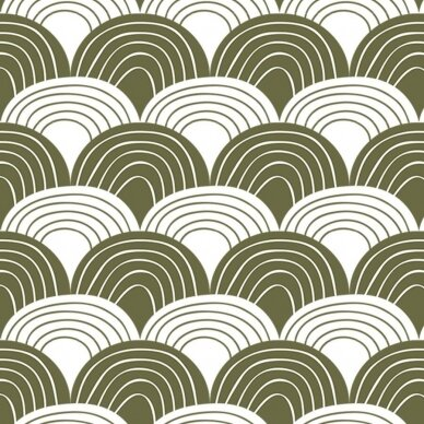 "Swedish Linens paklodė ,,Rainbows: olive green"" 2"