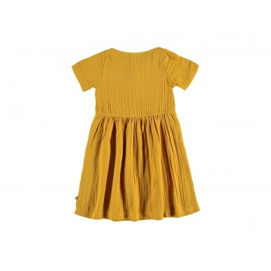 "Tiralahilacha suknelė ,,Mustard"" 2"