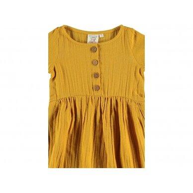 "Tiralahilacha suknelė ,,Mustard"" 3"