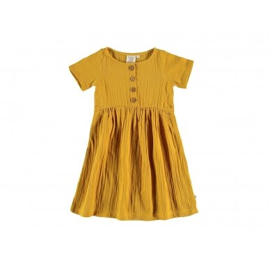 "Tiralahilacha suknelė ,,Mustard"""