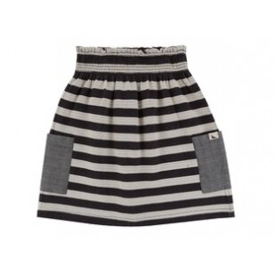 "Turtledove London dvipusis sijonas ,,Stripe skirt"""