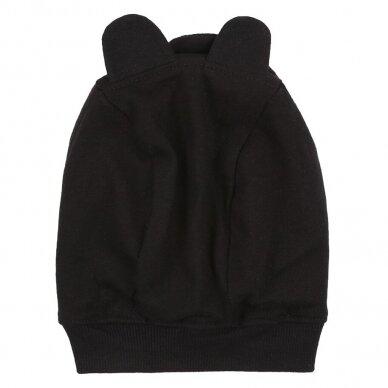 """Turtledove London kepurė ,,Bear: black"""" 2"""