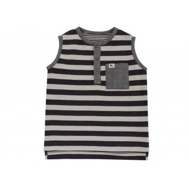 "Turtledove London dvipusiai marškinėliai ,,Stripe vest"""
